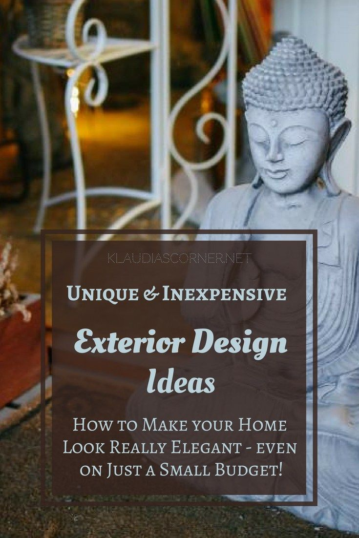 Home Decor Ideas - Unique Inexpensive Exterior Solutions To Make Your Home Look Elegant -  So, you're finally the proud owner of a new home, congratulations! You're happy with the interior decoration, all is signed and sealed, done and dusted and decorated to your full satisfaction, but how's about the exterior of your home? Here are some elegant home decor ideas to give your home that extra wow factor and a few affordable front garden design ideas to help you create a truly elegant exterior…