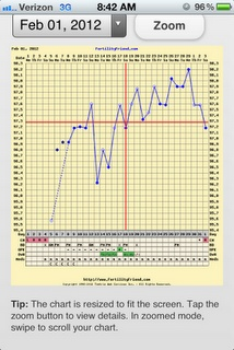 BBT charting with PCOS and my blog about doing the paleo diet to help control hormone imbalance for TTC and getting pregnant
