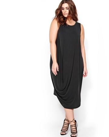 Rachel Roy Draped Front Dress