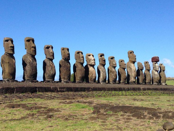 Ahu Tongariki Ilha de Páscoa, Chile