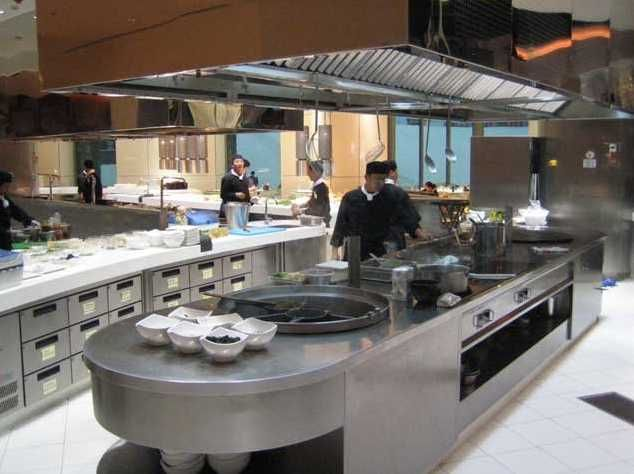 1000 images about design kitchen industrial on for Kitchen design restaurant