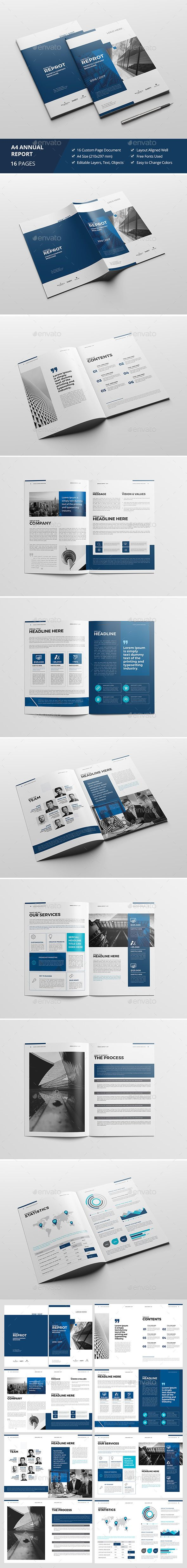 210 best Annual Report Template Design images on Pinterest