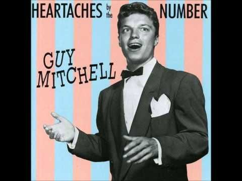 ▶ Guy Mitchell - Heartaches by the Number (1959) - YouTube