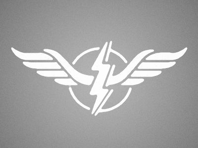Wings. Lightning BoltLogo ...  sc 1 st  Pinterest & The 195 best lightning bolts images on Pinterest | Lights Lightning ...