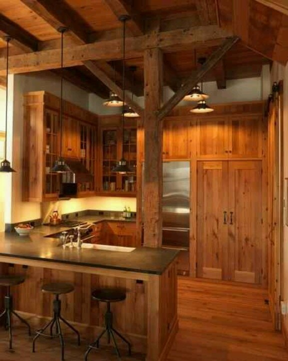 Knotty Pine Cabinets Makeover: 16 Best Knotty Pine Cabinets/kitchen Images On Pinterest