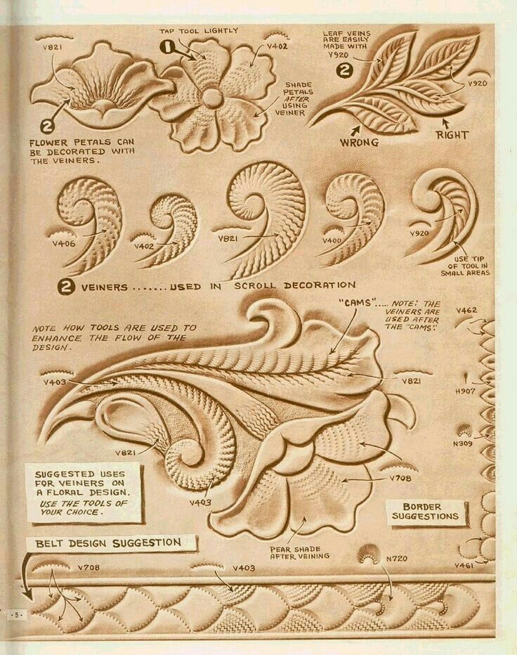 Great ideas about leather tooling on pinterest