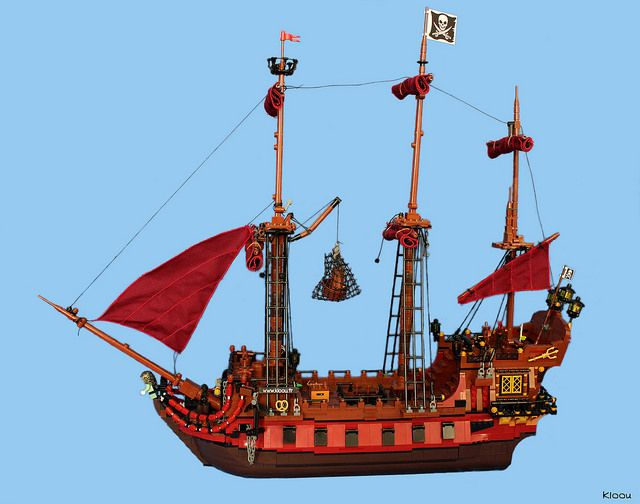 Pirate ship : La Saignante                                                                                                                                                                                 More