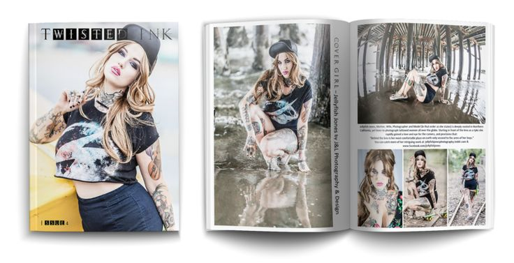 Twisted Ink Magazine—Issue 4 January 8, 2015 Lance's photos of Jellyfish Jones were published in this issue.
