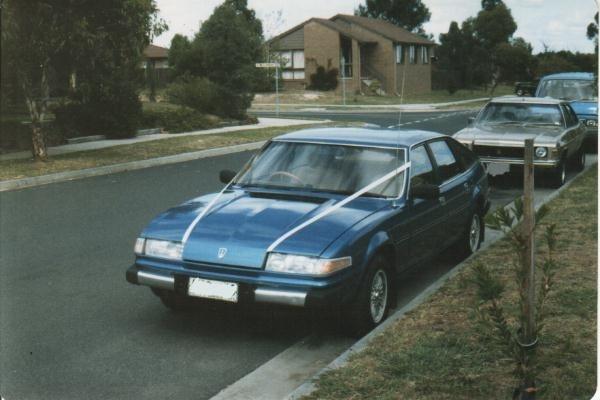 1980 3.5L V8 Rover SD1
