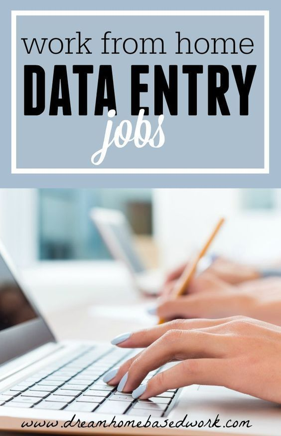12 Genuine Data Entry Jobs You Can Do from Home - Dream Home Based Work