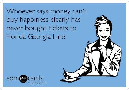 Tyler. Dayum. Florida Georgia Line. Can't Wait. March 2nd. <3