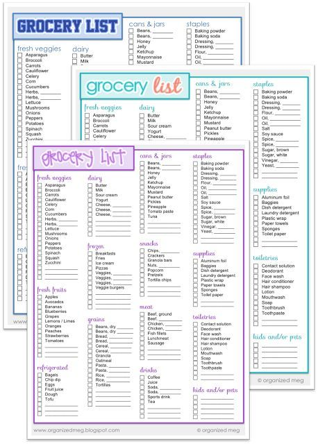 ... 12 Best Menu Template Images On Pinterest Meal Plan Templates   Editable  Shopping List Template ...  Editable Shopping List Template