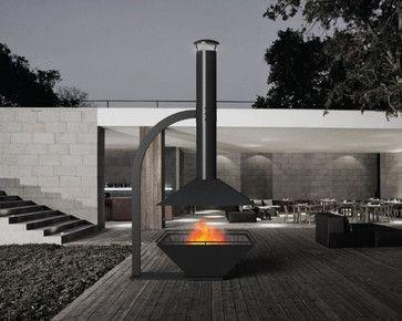 ESTIA DESIGN Caminus 1100 contemporary firepits