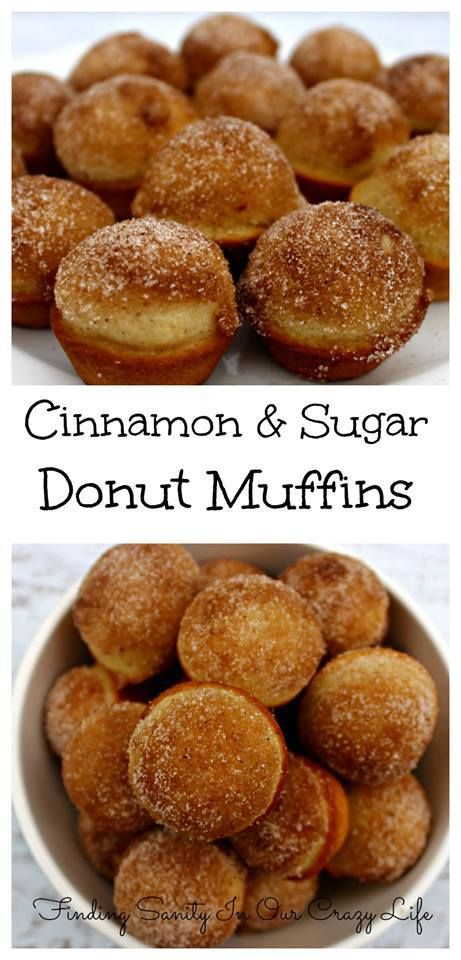 Looking for a sweet summertime treat? Check out this delicious Cinnamon Sugar Donut Muffins recipe! It will have your taste buds dancing!