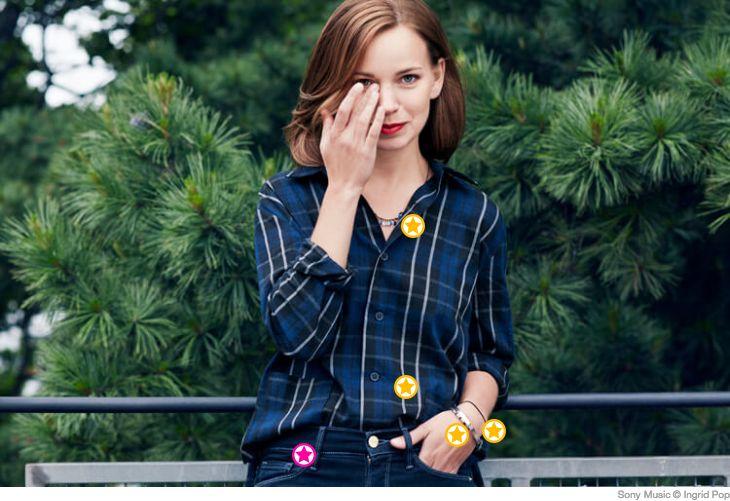 Marit Larsen setzt am liebsten auf sportliche und legere Looks. Eine Auswahl davon findet ihr wie immer bei uns!