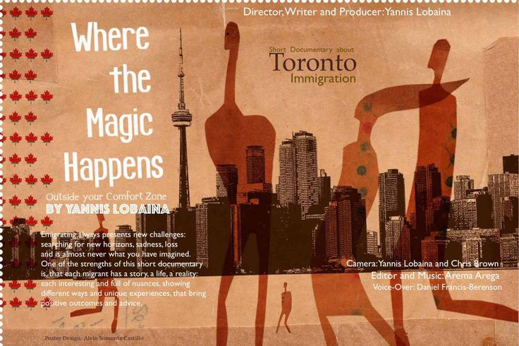 """Where the Magic Happens/ """"Outside your Comfort Zone"""""""
