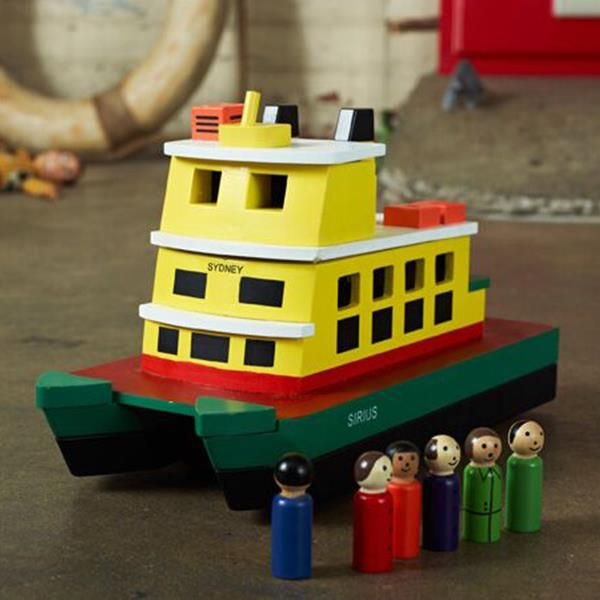 Make Me Iconic Wooden Sydney Ferry Toy