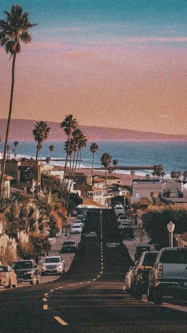 L A Aesthetic Backgrounds Aesthetic Wallpapers Los Angeles Wallpaper