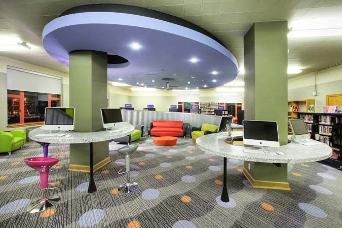 68 Best Teen Space Images On Pinterest Library Furniture Learning Environments And Library