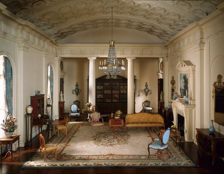 English Drawing Room Of The Georgian Period 1770 1800