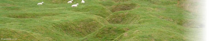 Europe: France Somme Battlesite Newfoundland Memorial Park, Beaumont Hamel