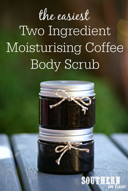 The Easiest Two Ingredient Coffee Body Scrub Recipe