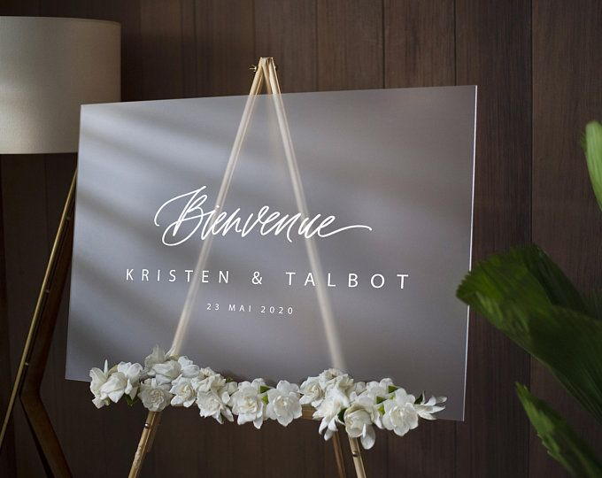 Welcome Acrylic Wedding Sign Painted Acrylic Welcome Sign Etsy Wedding Welcome Signs Wedding Signs Wedding Welcome