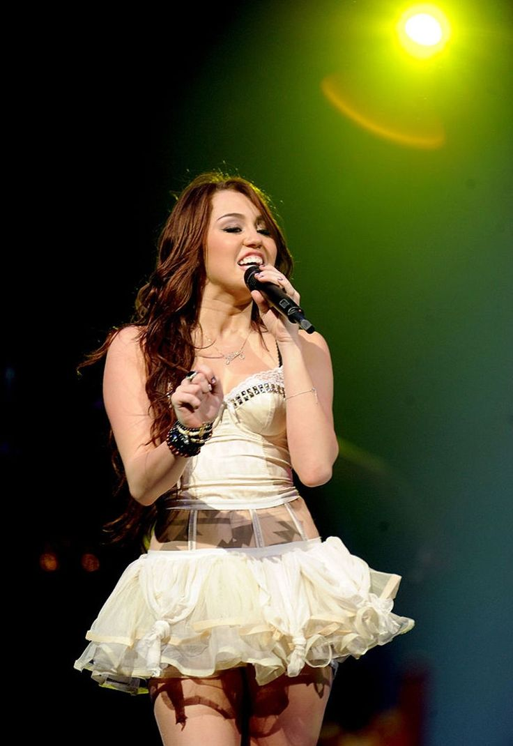 Miley Cyrus Style Evolution - Miley Cyrus Stage Looks Through the Years