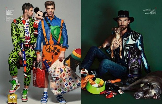 Chad White, Daan van der Deen and Henrik Fallenius for Bazaar China