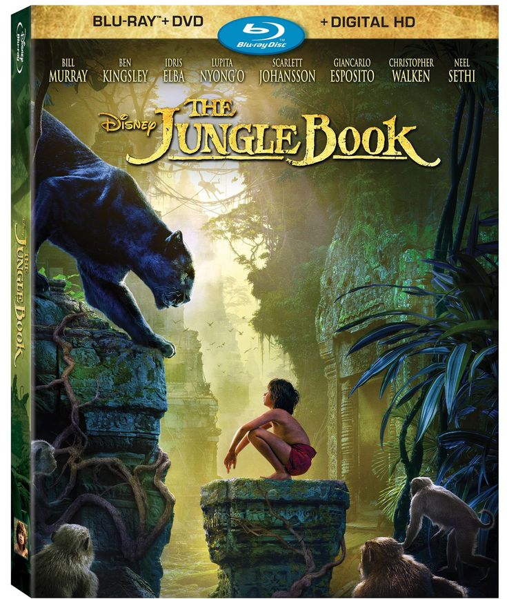 Get ready to bring The Jungle Book Blu-Ray & Digital HD home today. Make sure to check out the included Bonus Features! #JungleBookBluRay