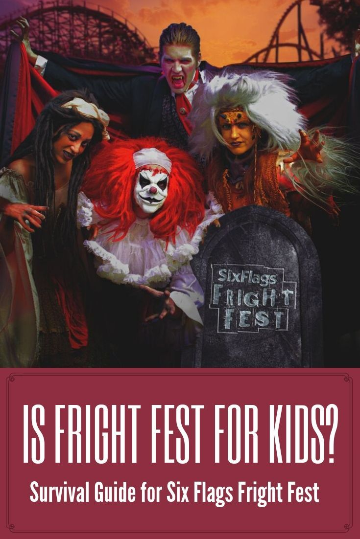 Surviving Fright Fest With Kids At Six Flags Great Adventure Six Flags Great Adventure Greatest Adventure Six Flags