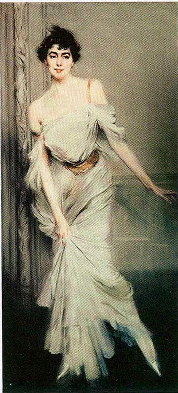 Boldini, Giovanni (1842-1931) - 1896 Portrait of Madame Charles Max (Museum d'Orsay, Paris)