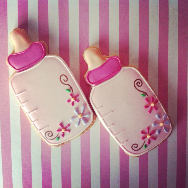 Baby bottle cookies...