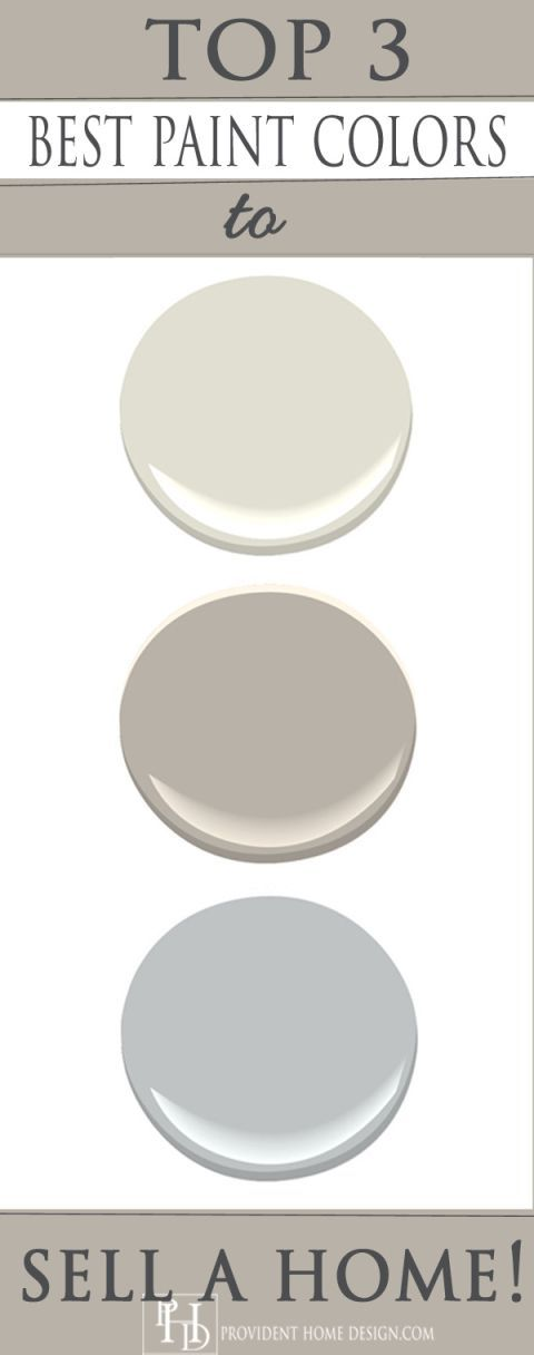 Top Paint Colors to Sell a Home                                                                                                                                                      More