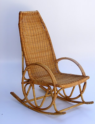 Vintage Cane Rocker  C B Cane Furniturerattan Furniturefurniture Onlinebamboo