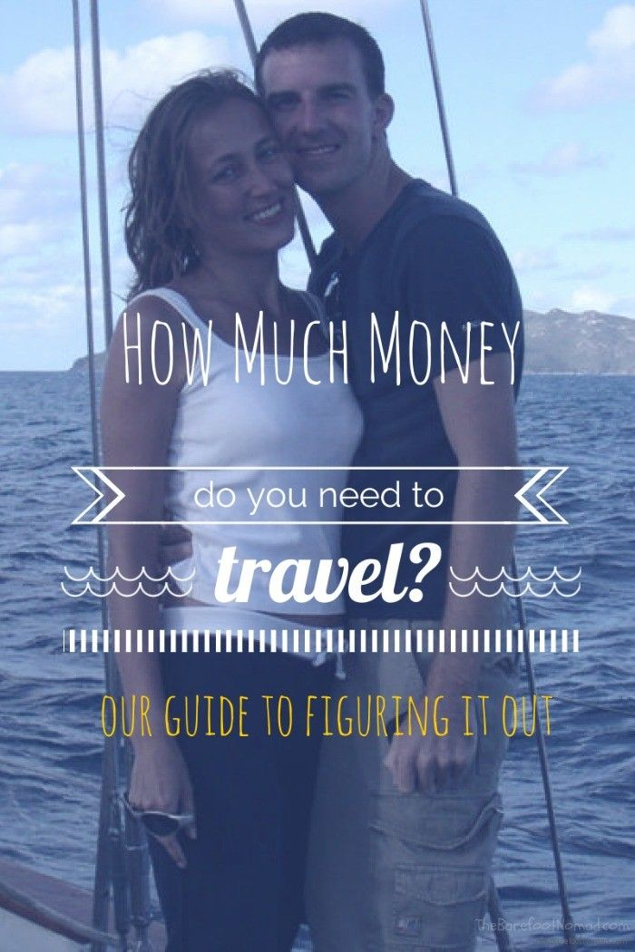 One of the hardest questions you'll have to answer is: How much money do you need to travel? Here's our back of the envelope guide to help you out.