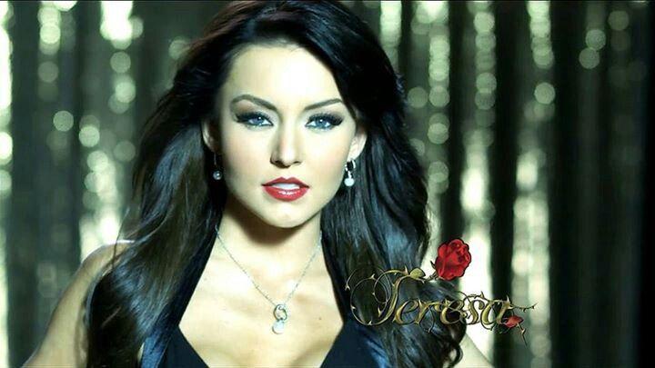 angelique boyer teresa makeup - photo #25