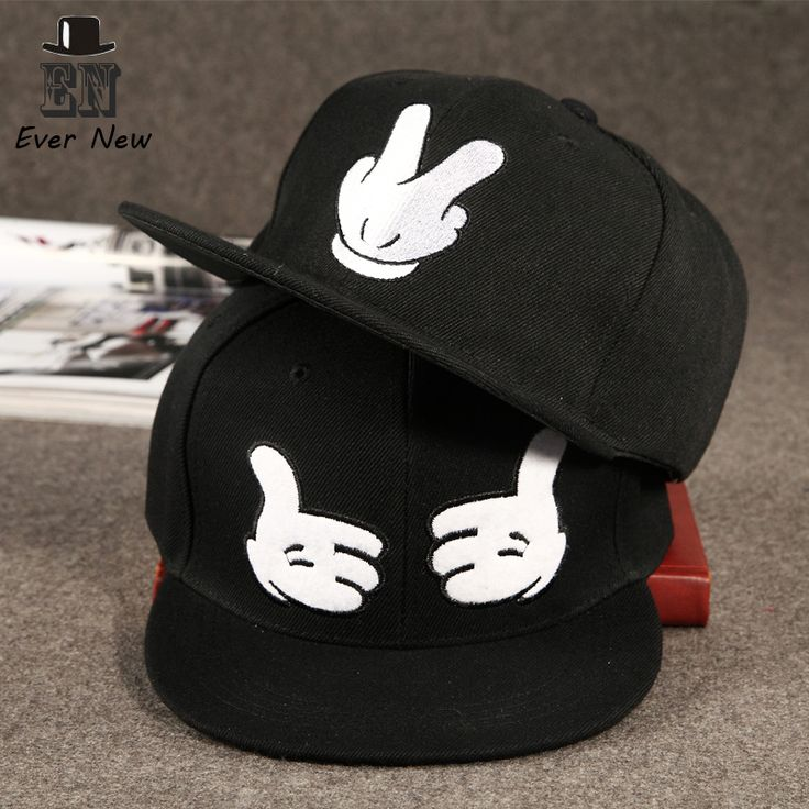 Barato Moda sólida de Snapback chapéu Hip Hop Snapback para homens mulheres…