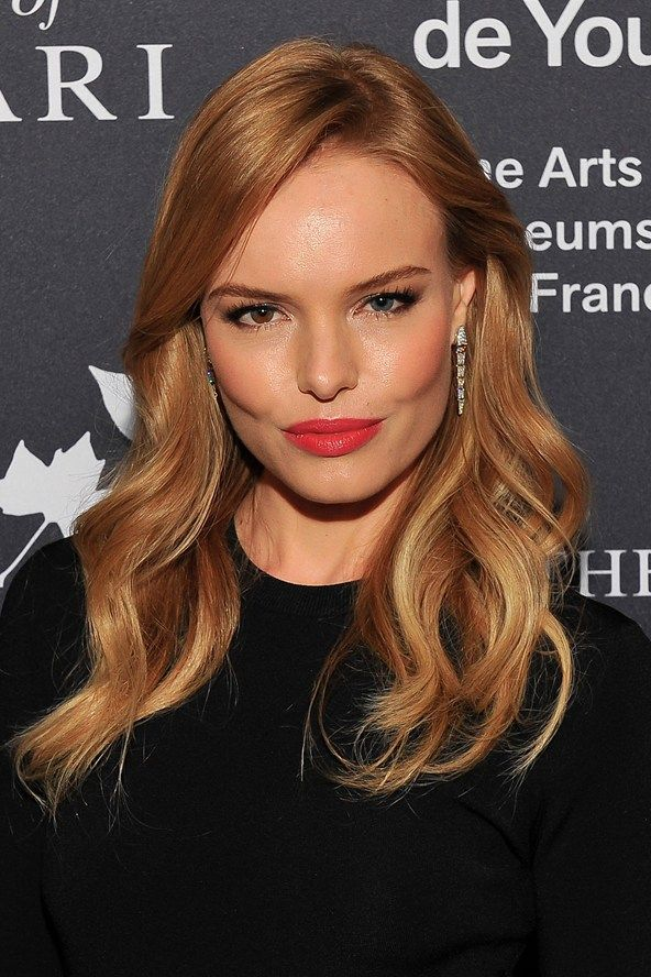 Blessed are the A-List: We want her hair! | Strawberry blonde hair, Honey hair color, Red hair color