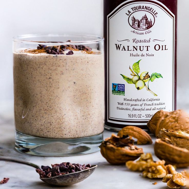 If you're looking for a smoothie that aligns with a ketogenic diet (one that is low in carbohydrates, moderate in protein and high in fat), try this blend of healthy fats from avocado, coconut milk, nut butter and Walnut Oil. Rich cocoa powder and cinnamon give this recipe a flavor that is closer to dessert …
