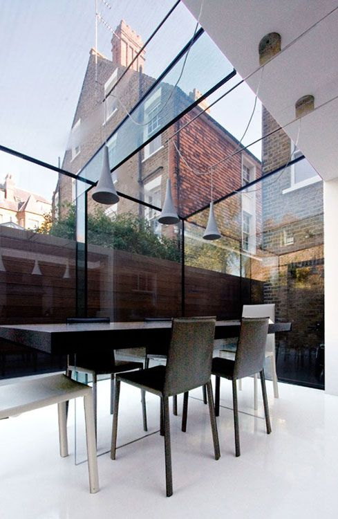 Garden Room House in Chiswick, London by Coffey Architects
