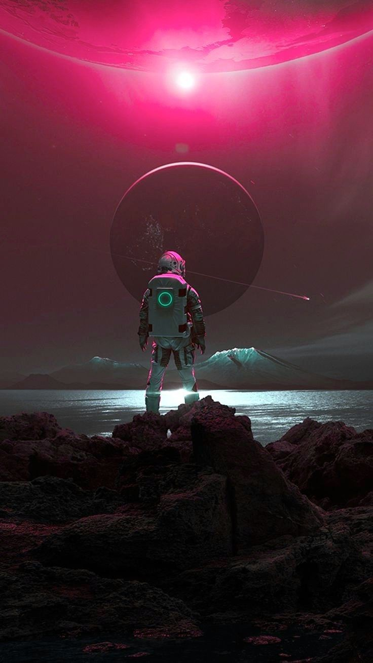 Best Free Astronaut Phone Wallpapers Backgrounds Cool Space Art Astronaut Art Art Wallpaper
