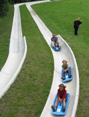 La Mer de Glace luge est une très heureux activité pour toutes la familles de jouerai.
