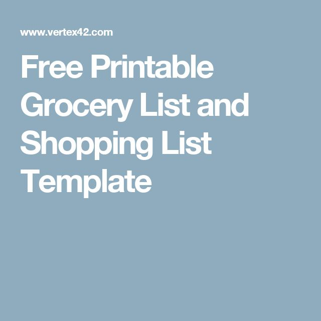 The 25+ best Grocery list templates ideas on Pinterest Free menu - free inventory templates