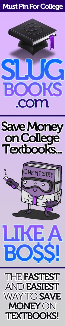 Great place to find your college text books! The site compares all the prices for you! It's great.