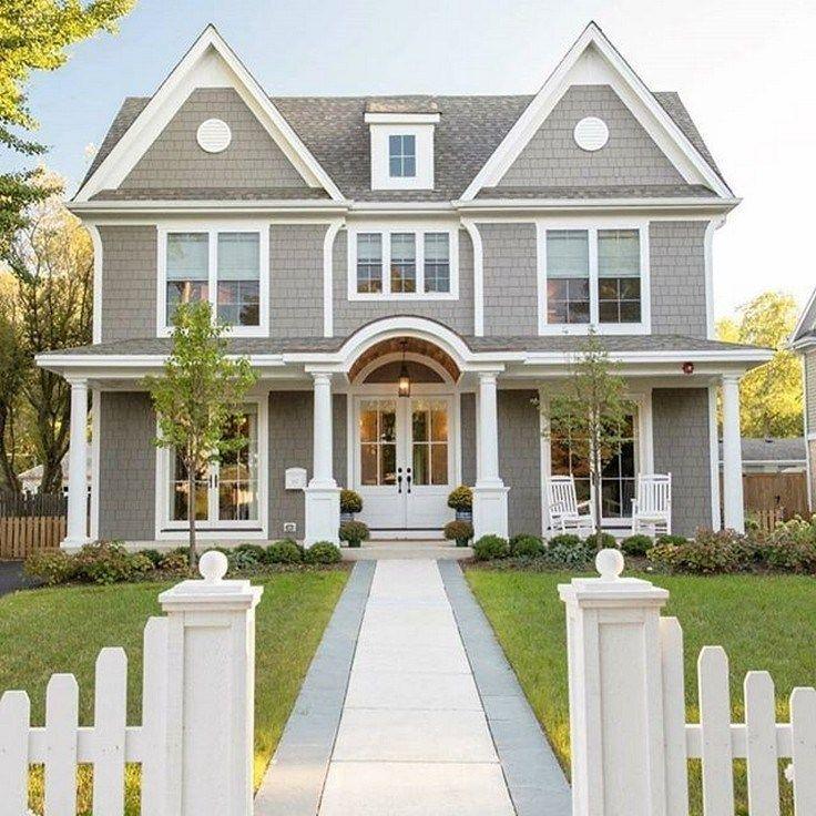 44 Stunning Modern Dream House Exterior Design Ideas You