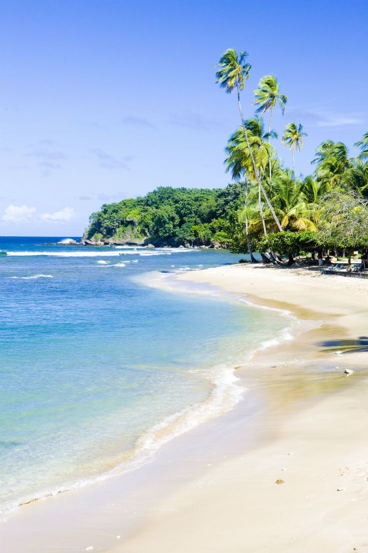 Walk along the white sands of Mount Irvine Bay, Tobago. #Caribbean #Beach