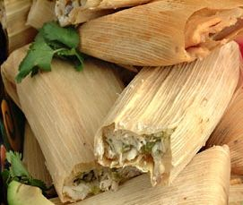 Traditional New Mexican Christmas food!  Tamales, delicious!