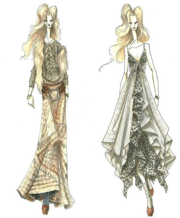 Bohemian Illustrated #LookBook by Founder of #HauteHippie, Trish Wescoat Pound
