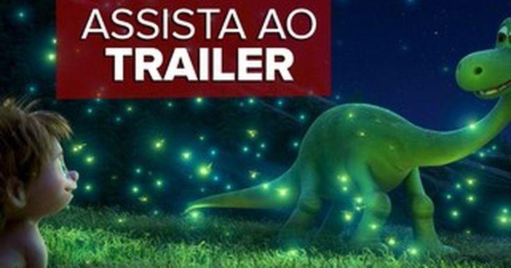 'O Bom Dinossauro': Assista ao trailer do novo filme da Pixar